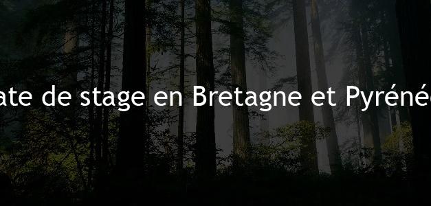 Dates Bretagne et Pyrénées